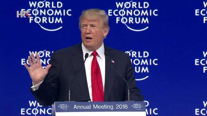 """TRUMP U DAVOSU """"Amerika na 1. mjestu ali ne sama"""""""
