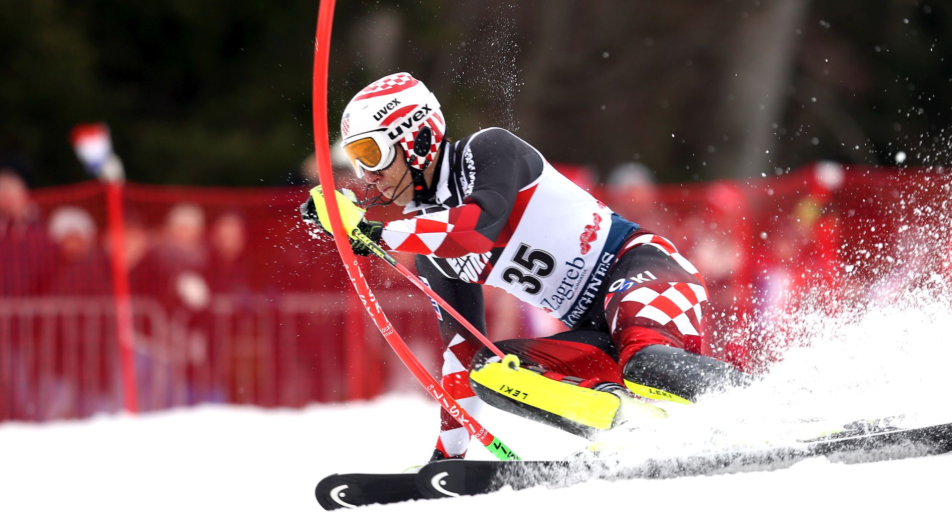 Vidović u drugoj vožnji slaloma u Kitzbuehelu