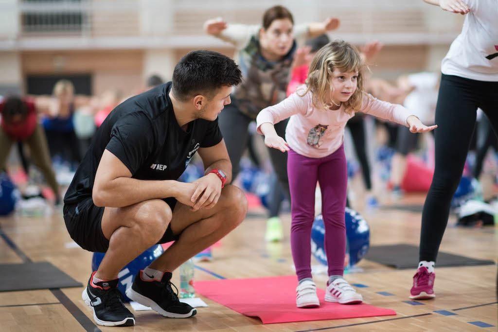 FOTO: AKTIVNA HRVATSKA Više od 200 vježbača na prvom ovogodišnjem treningu u Donjoj Stubici