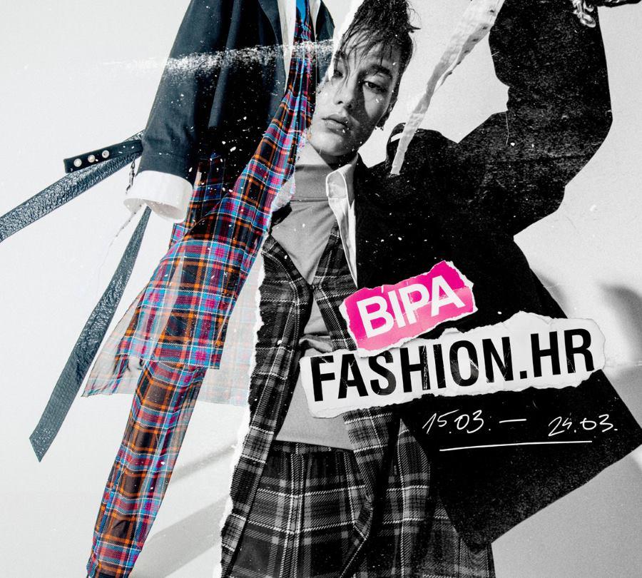 FOTO: Energična kampanja za tjedan mode BIPA FASHION.HR