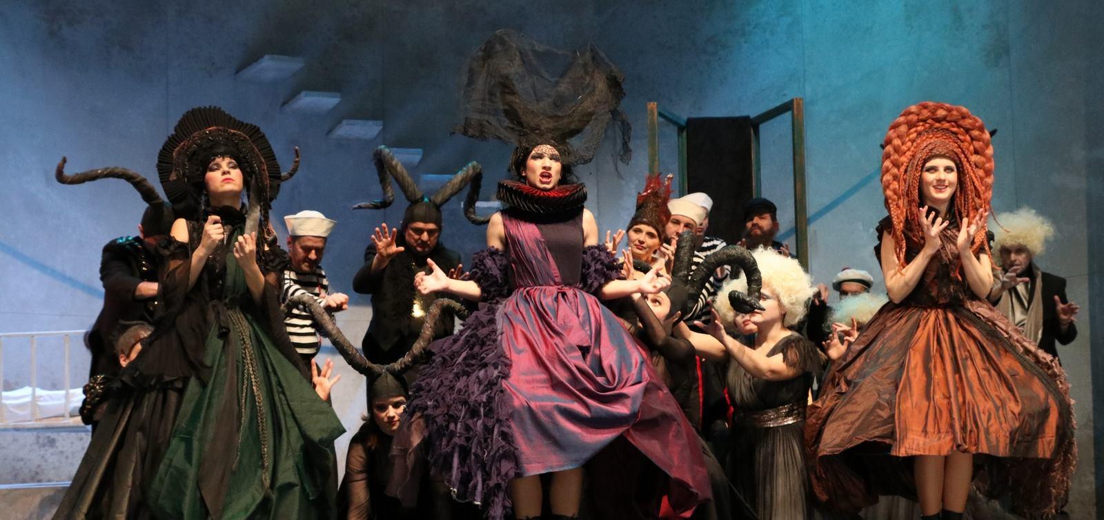 FOTO: Barokna opera 'Didona i Eneja' po prvi put u riječkom HNK