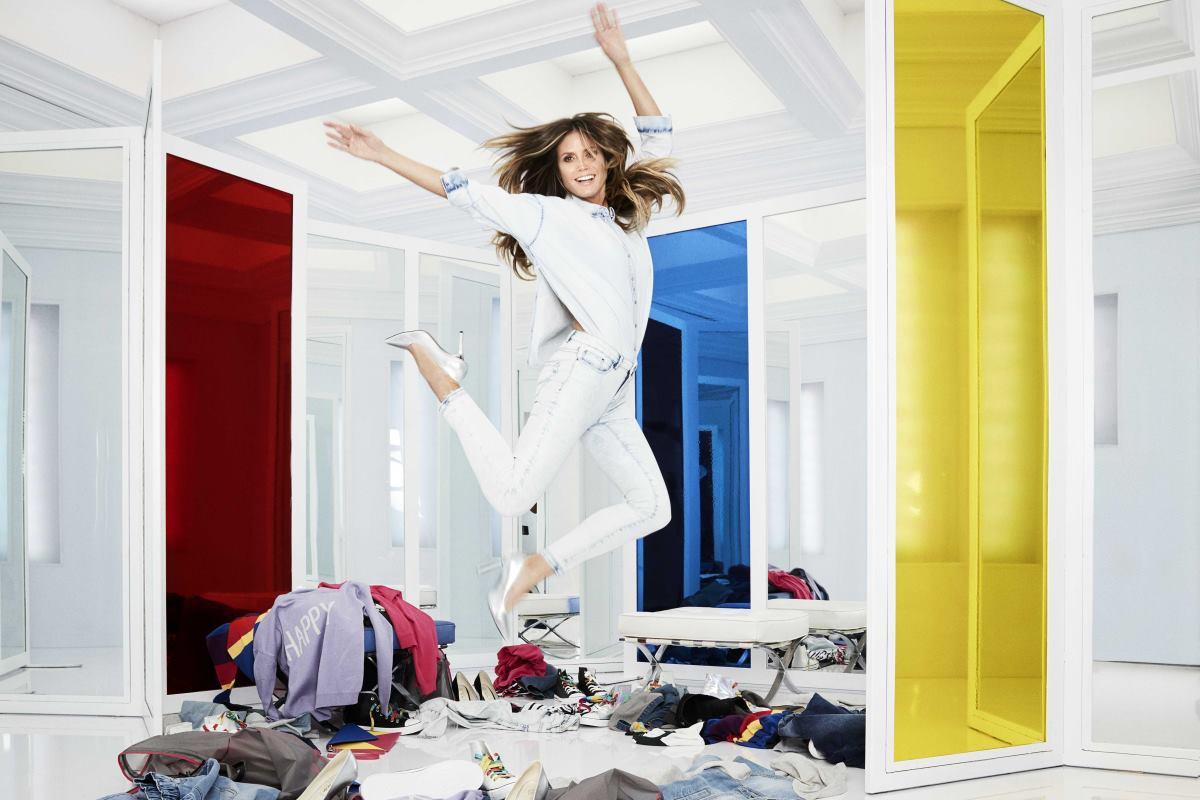 #LETSDENIM Heidi Klum i Lidl predstavljaju kolekciju otkačenih traper kombinacija