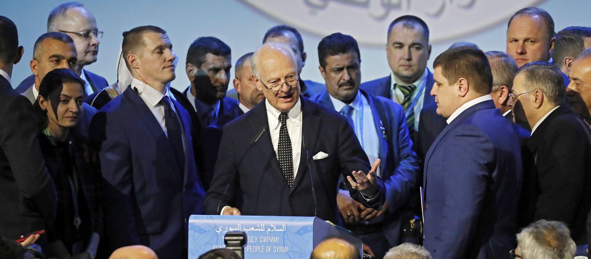 Sirijske skupine optužuju Guterresa da je nagradio Rusiju
