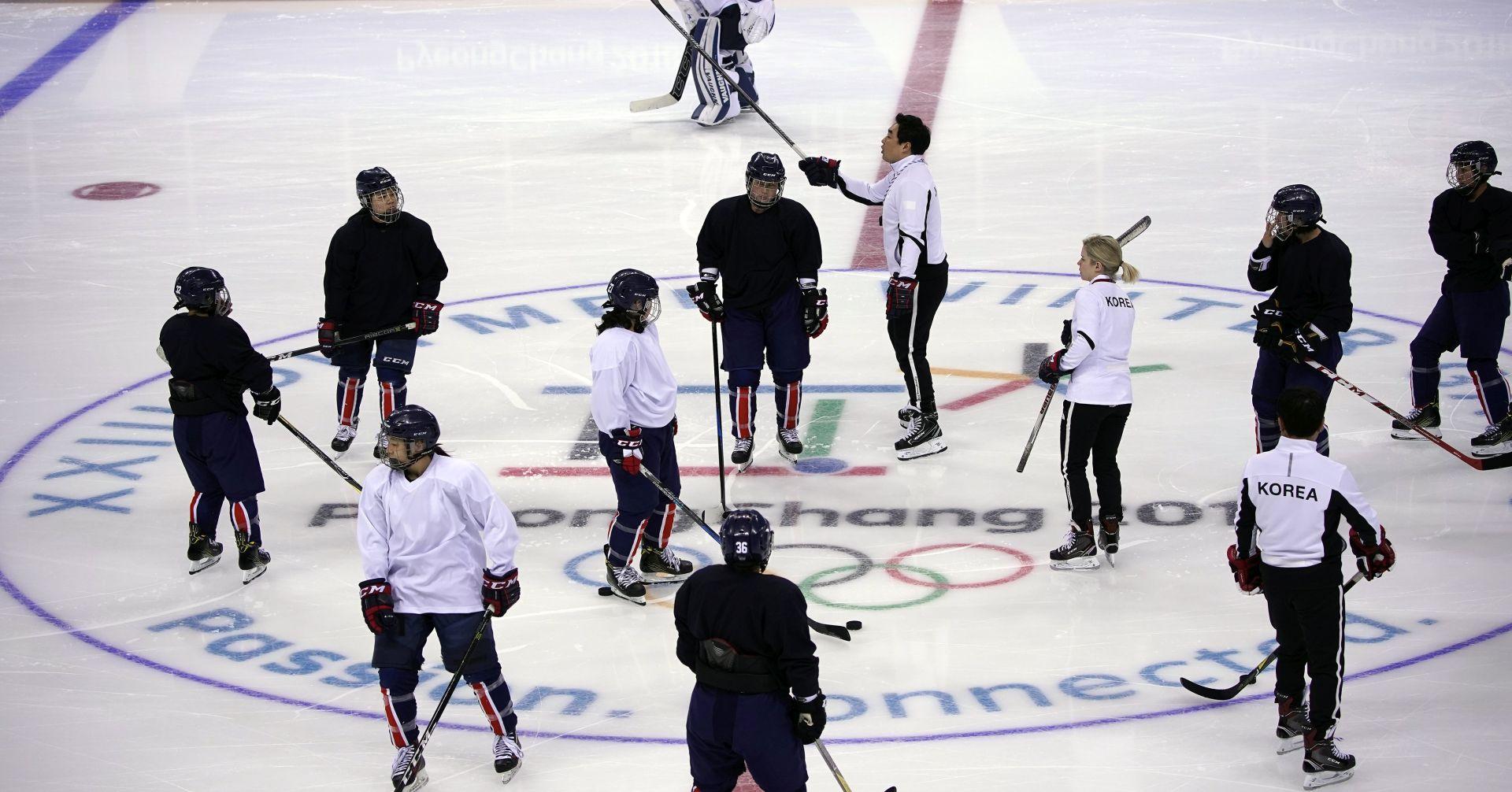 ZOI Korejske hokejašice izgubile povijesni debi
