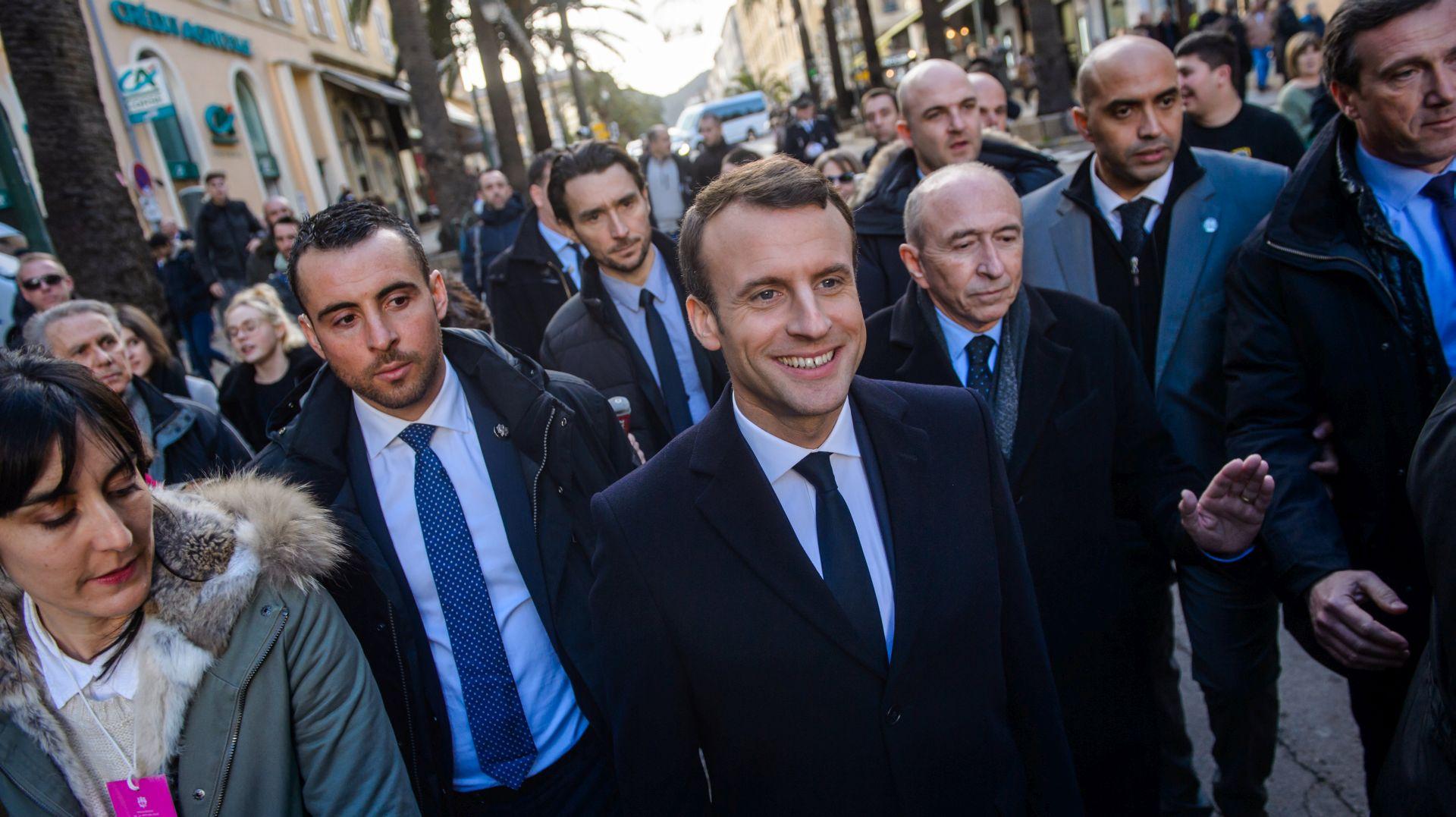 Macron prvi put u posjetu Korzici
