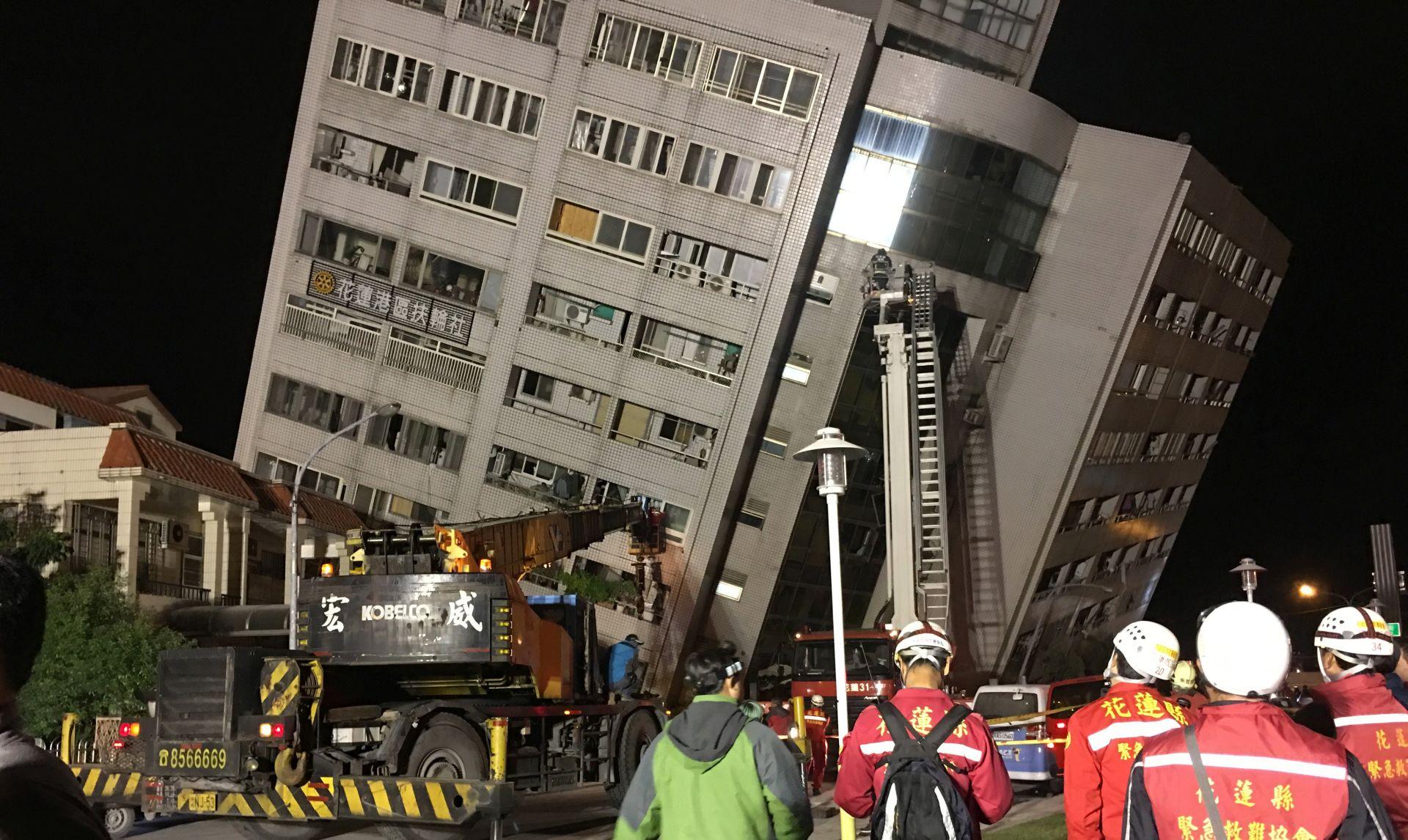 U potresu na Tajvanu najmanje dvoje mrtvih, više od 100 ozlijeđenih