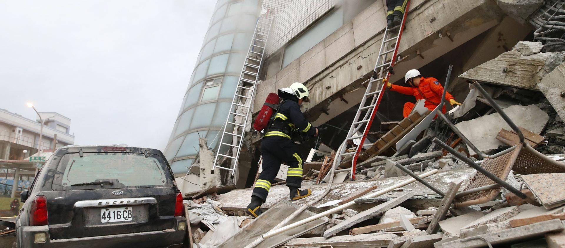 Novi potres zatresao Tajvan