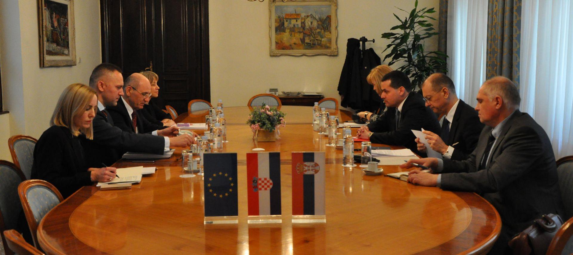 Održan drugi sastanak koordinatora Hrvatske i Srbije za rješavanje otvorenih pitanja