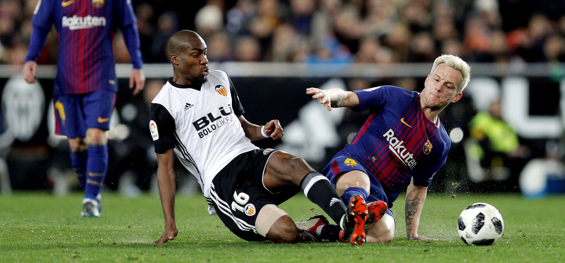 Barcelona u finalu Kupa Kralja, Rakitić strijelac