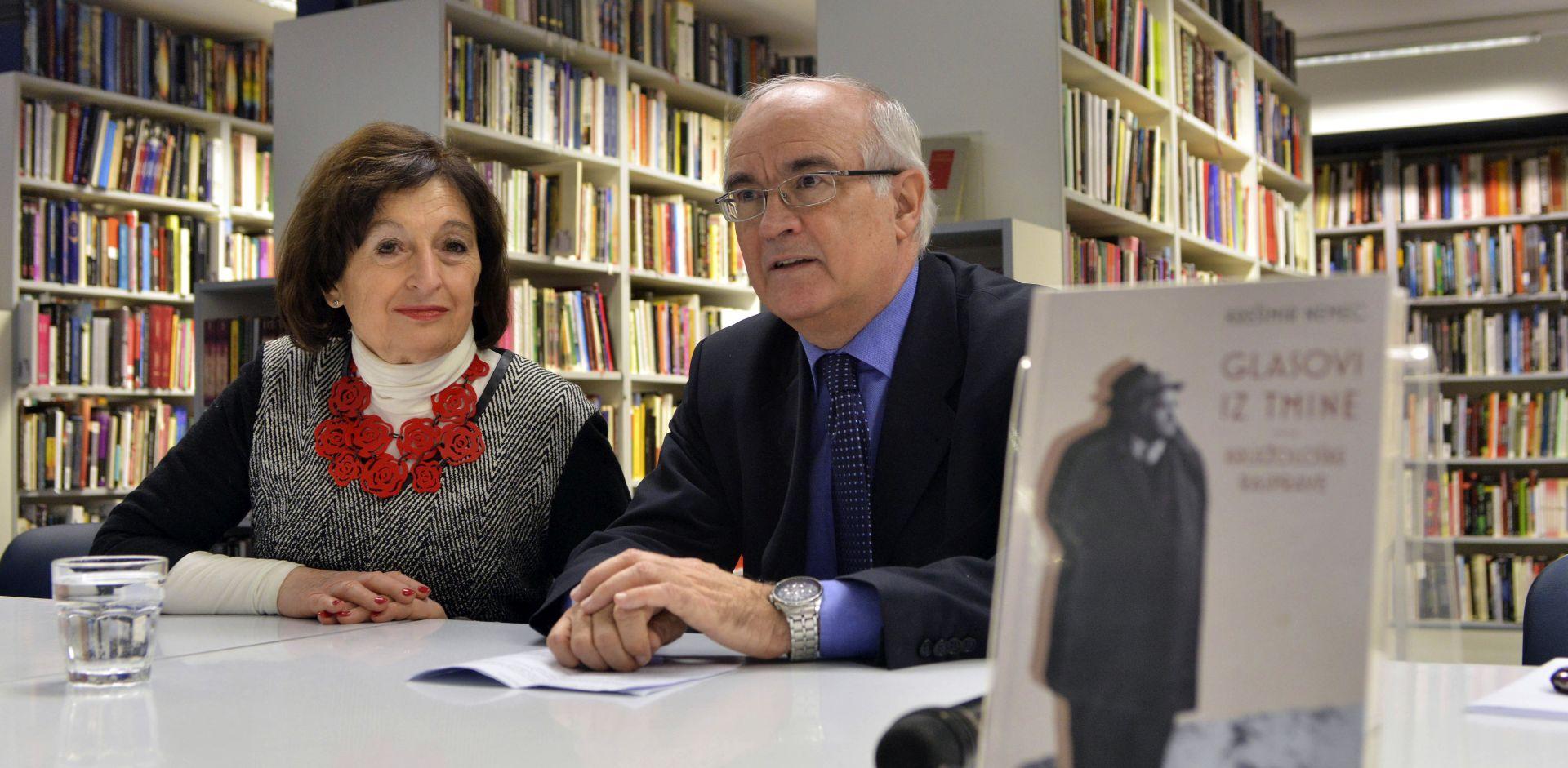 """Predstavljena knjiga Krešimira Nemeca """"Glasovi iz tmine"""""""