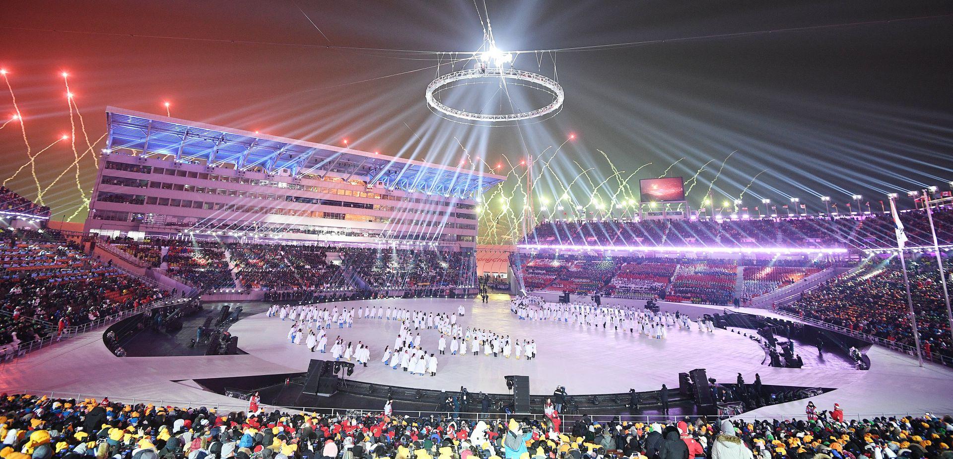 FOTO: Otvorene zimske olimpijske igre u Pjongčangu