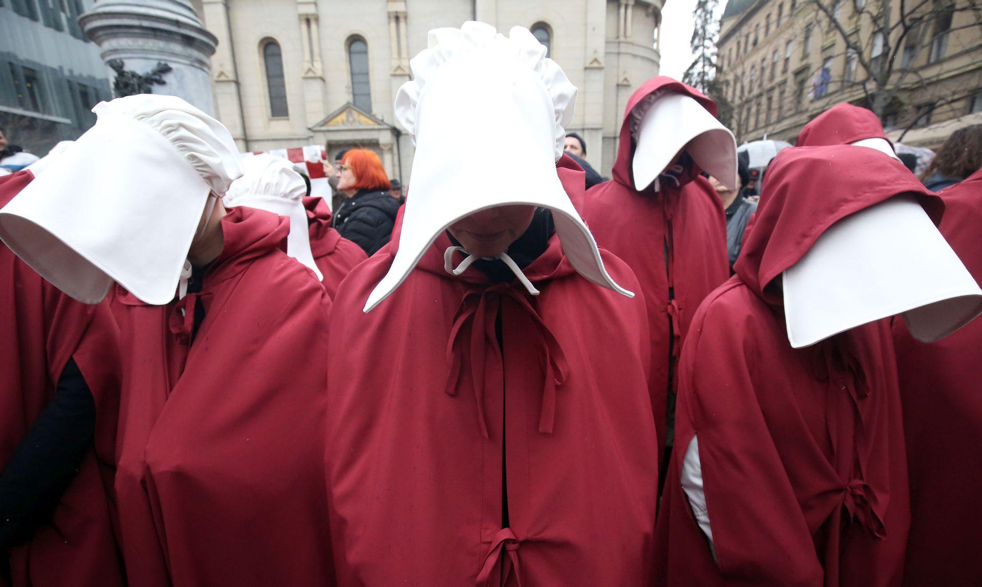ZAGREB Noćni marš povodom Dana žena