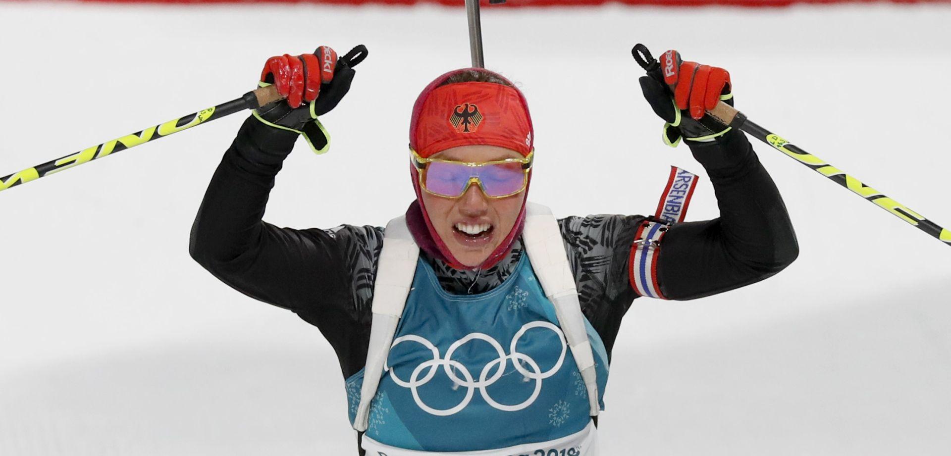 ZOI2018 Prvo olimpijsko zlato za Lauru Dahlmeier