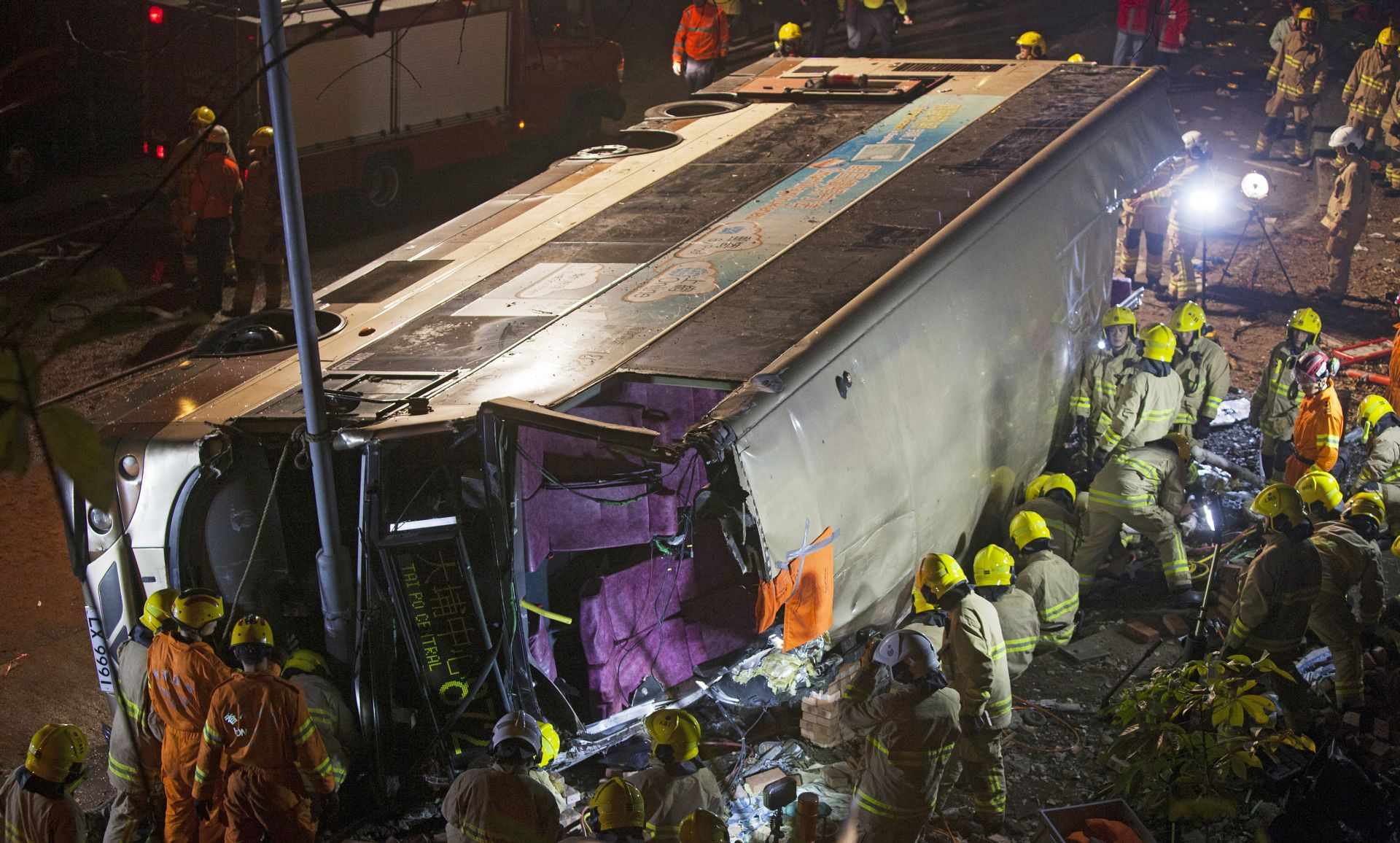 U autobusnoj nesreći u Hong Kongu najmanje 18 mrtvih