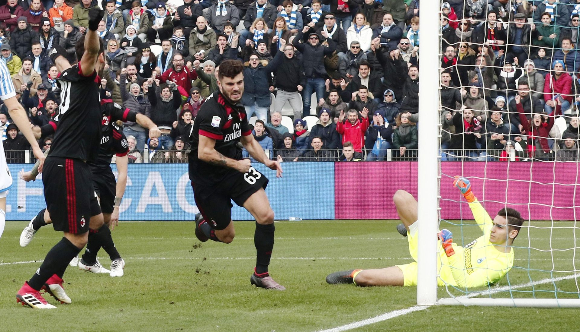 SERIE A Slavlje Milana protiv SPAL-a