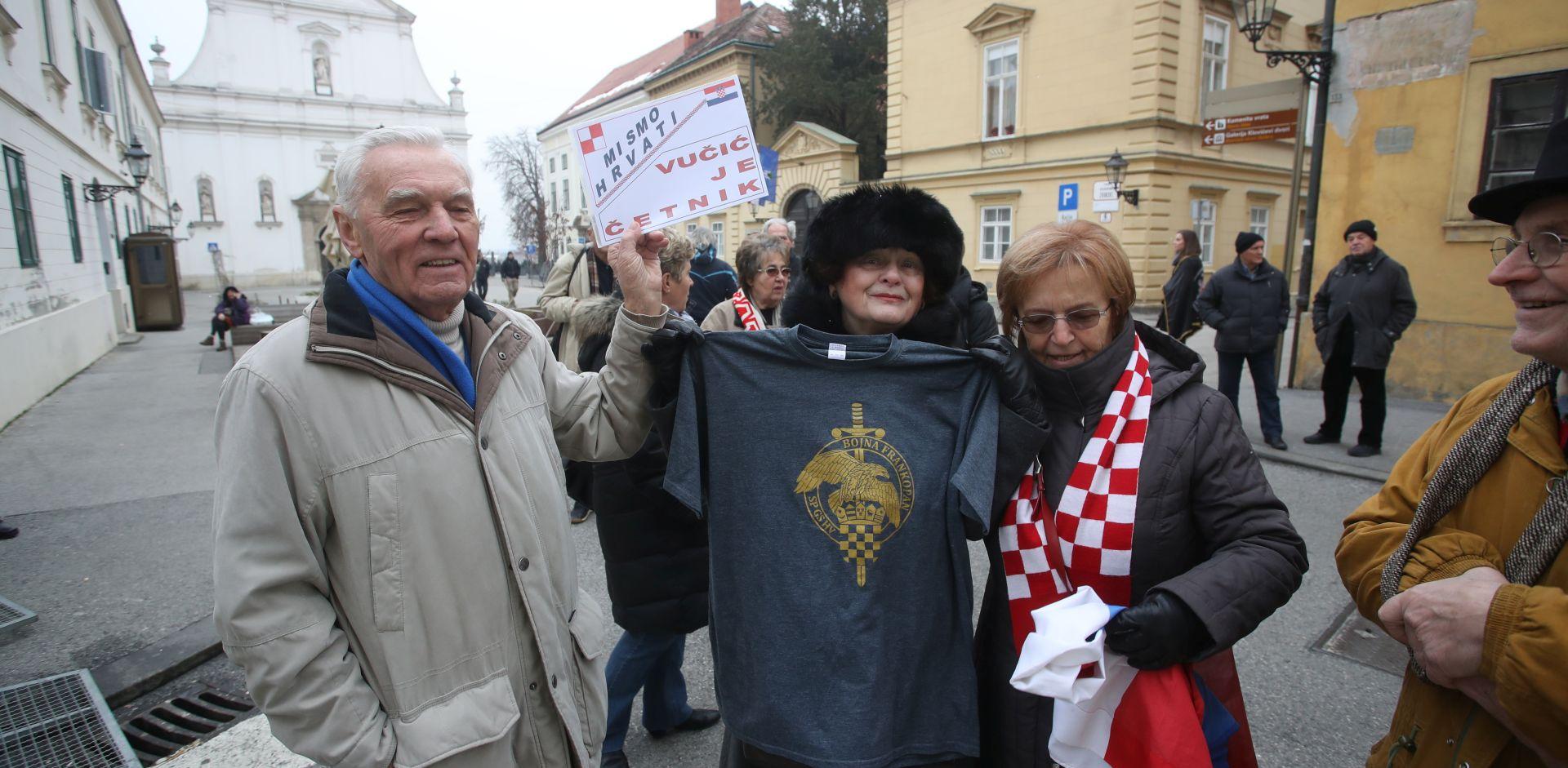 PROSVJED PROTIV VUČIĆA Okupljaju se udovice i veterani