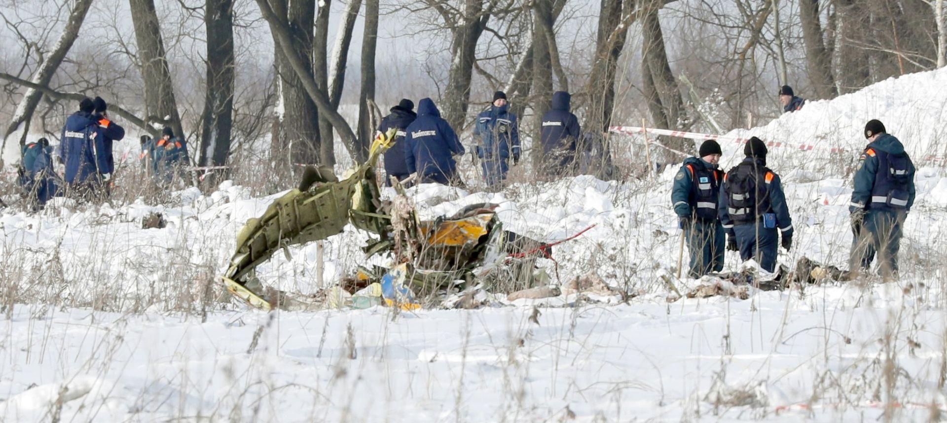 Ruski zrakoplov eksplodirao je na tlu, odbačena mogućnost terorizma