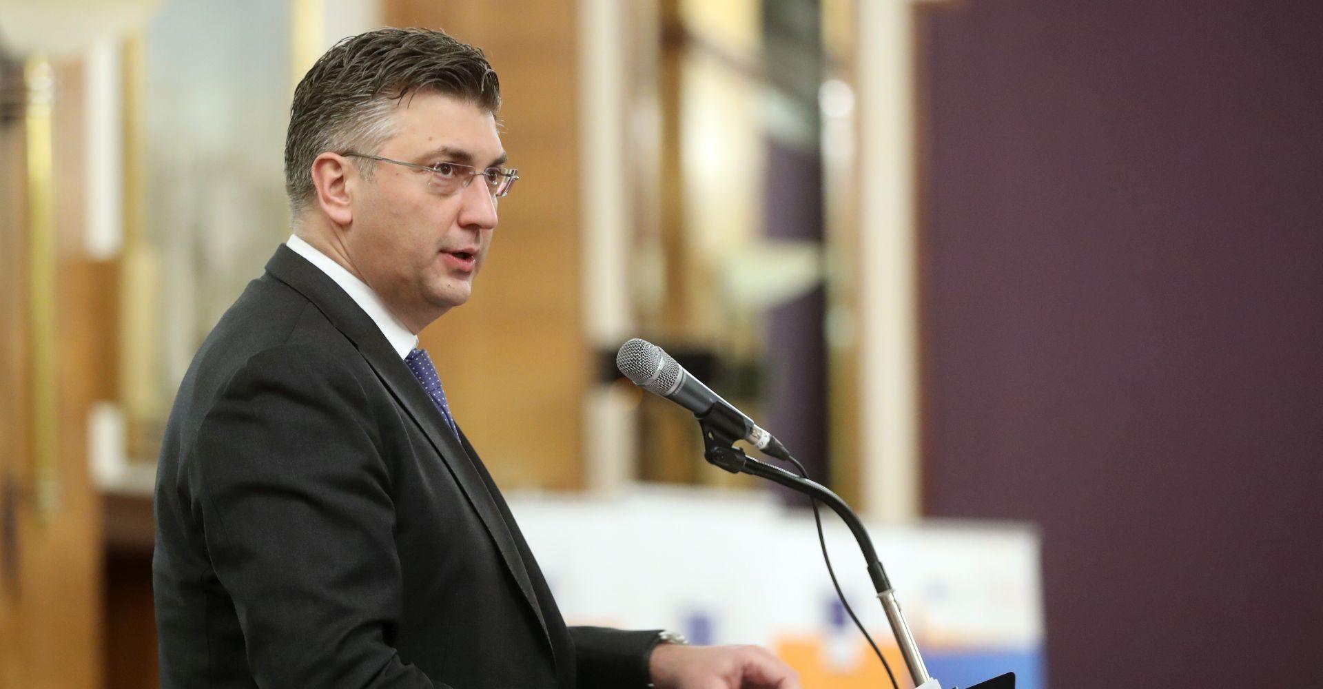 Plenković nakon sjednice Vlade putuje u Bruxelles