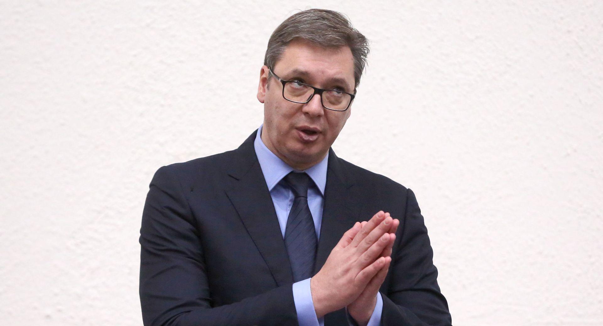 """VUČIĆ: """"To nije naročito prijateljska gesta prema Srbiji"""""""