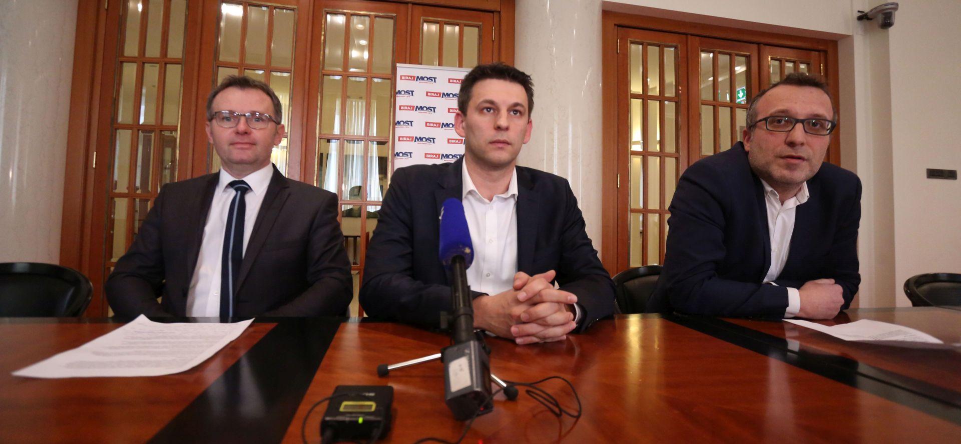 Objavljen Mostov nacrt prijedloga za opoziv Martine Dalić