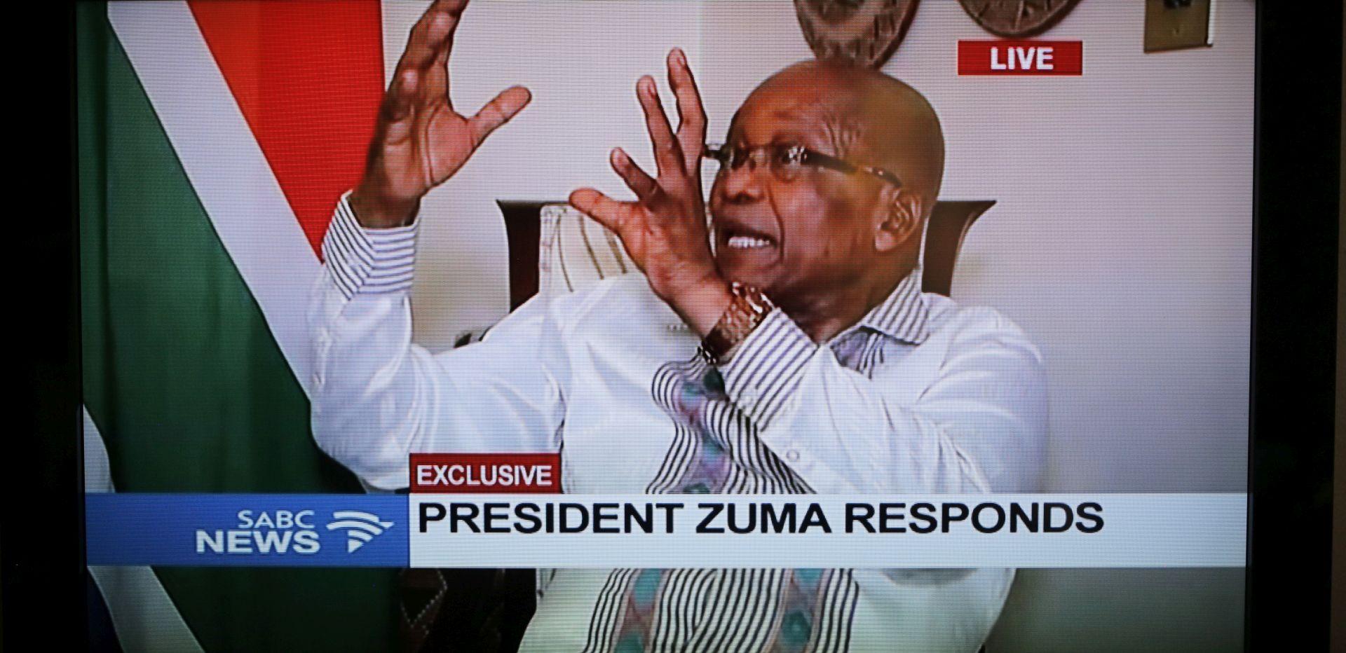 Jacob Zuma nakon pritiska ipak podnio ostavku