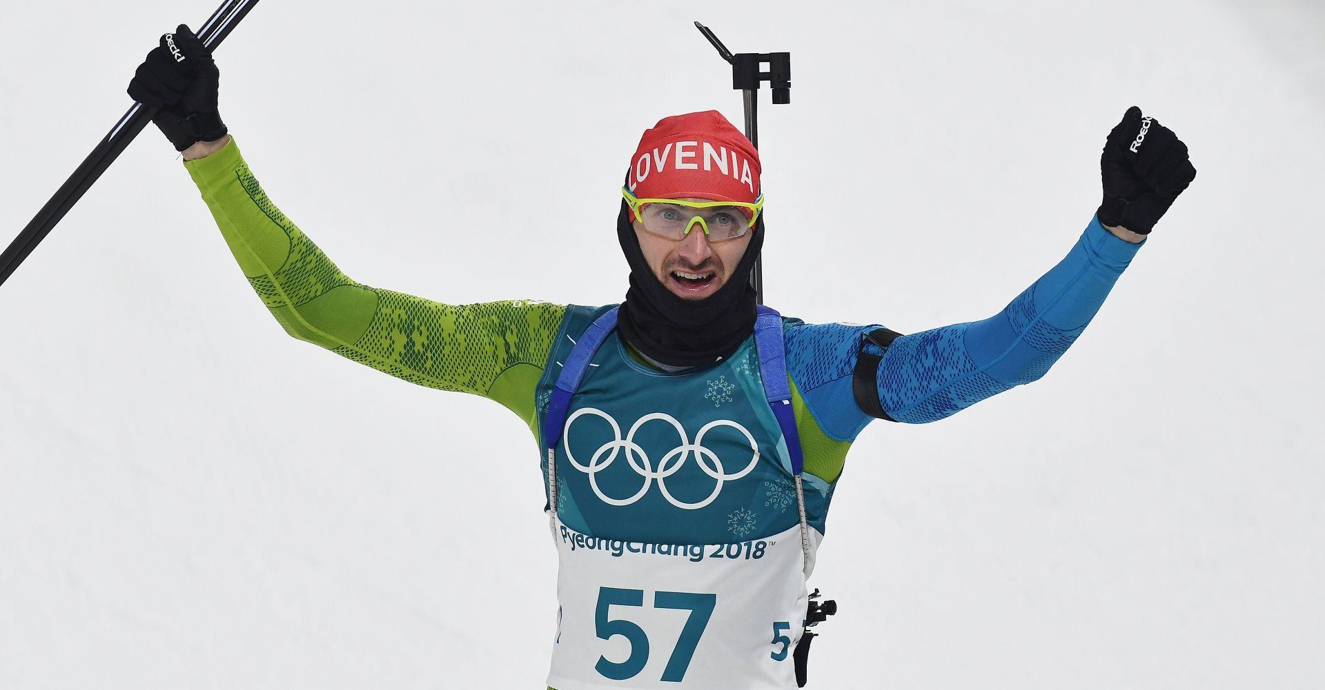 ZOI Jakov Fak Sloveniji donio srebro