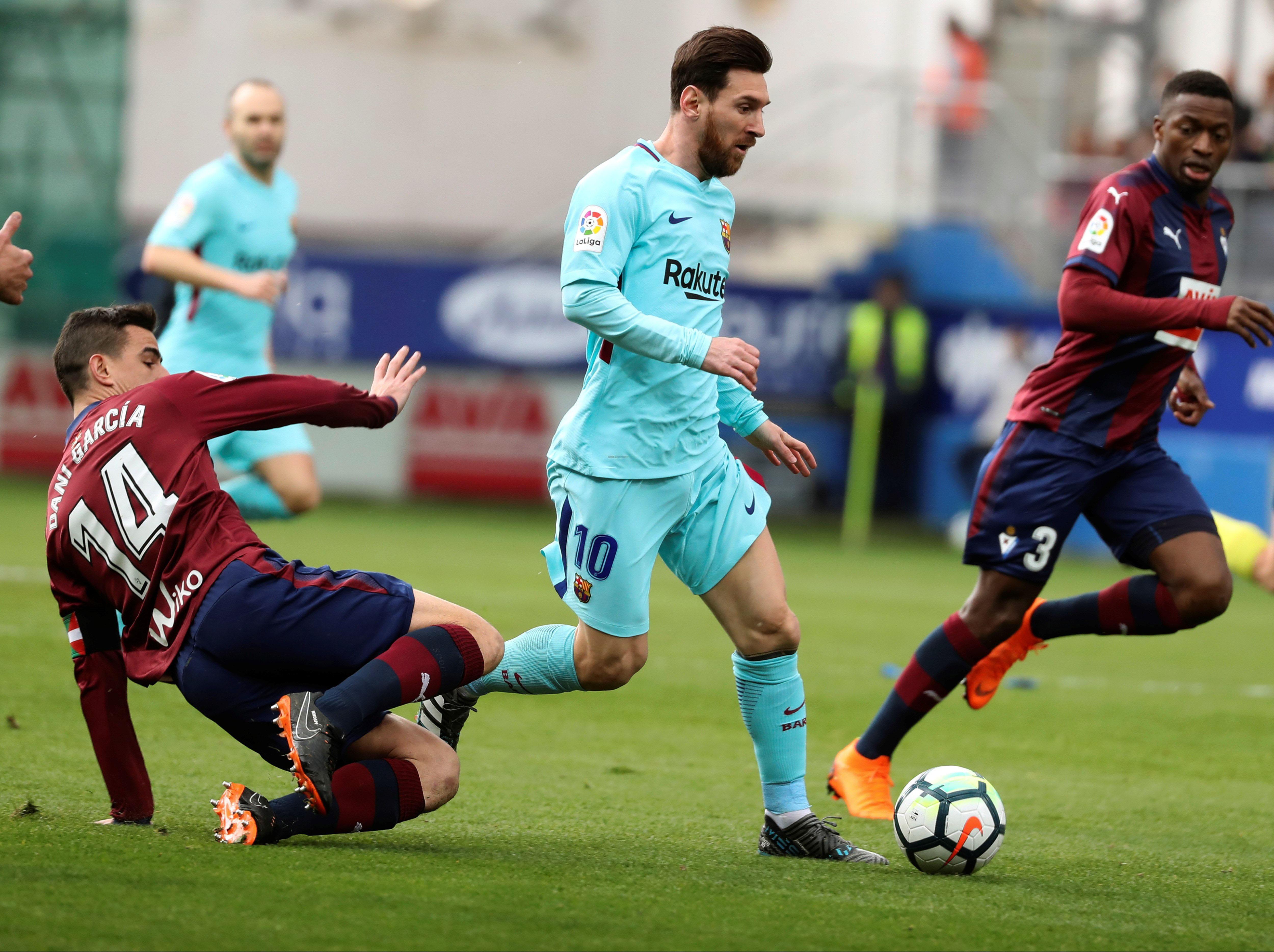Eibar – Barcelona 0-2