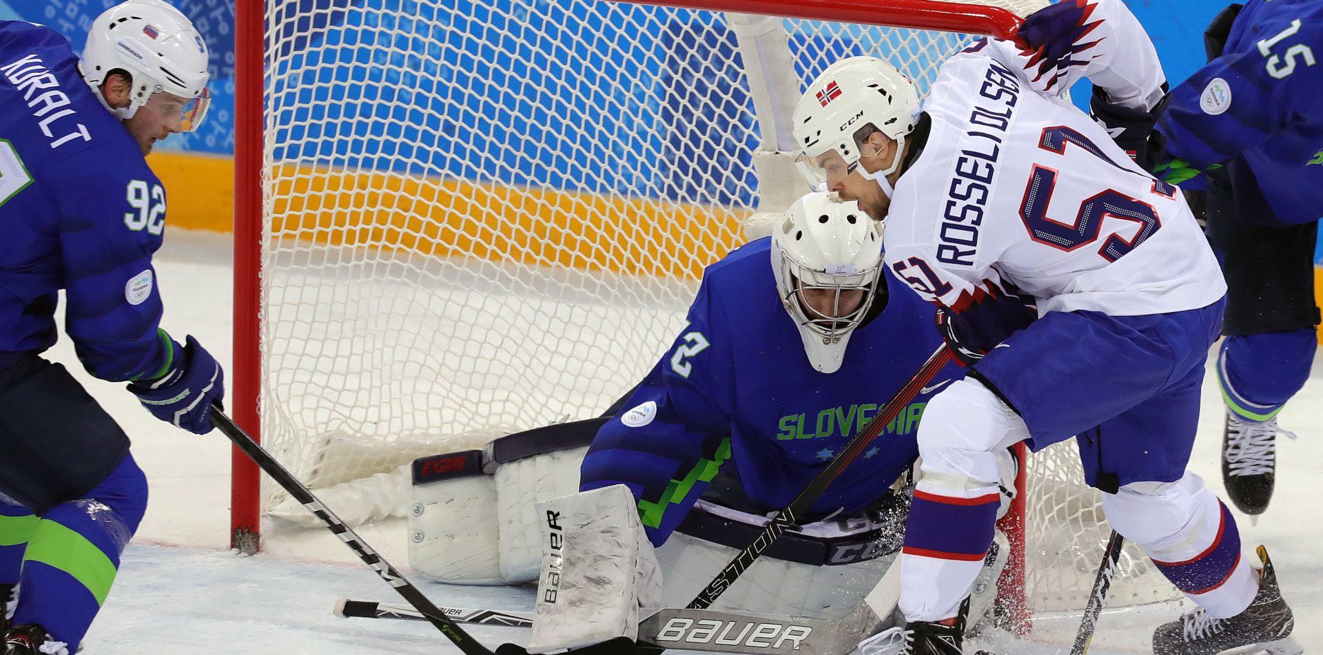 ZOI Hokejaši Norveške izbacili Slovence