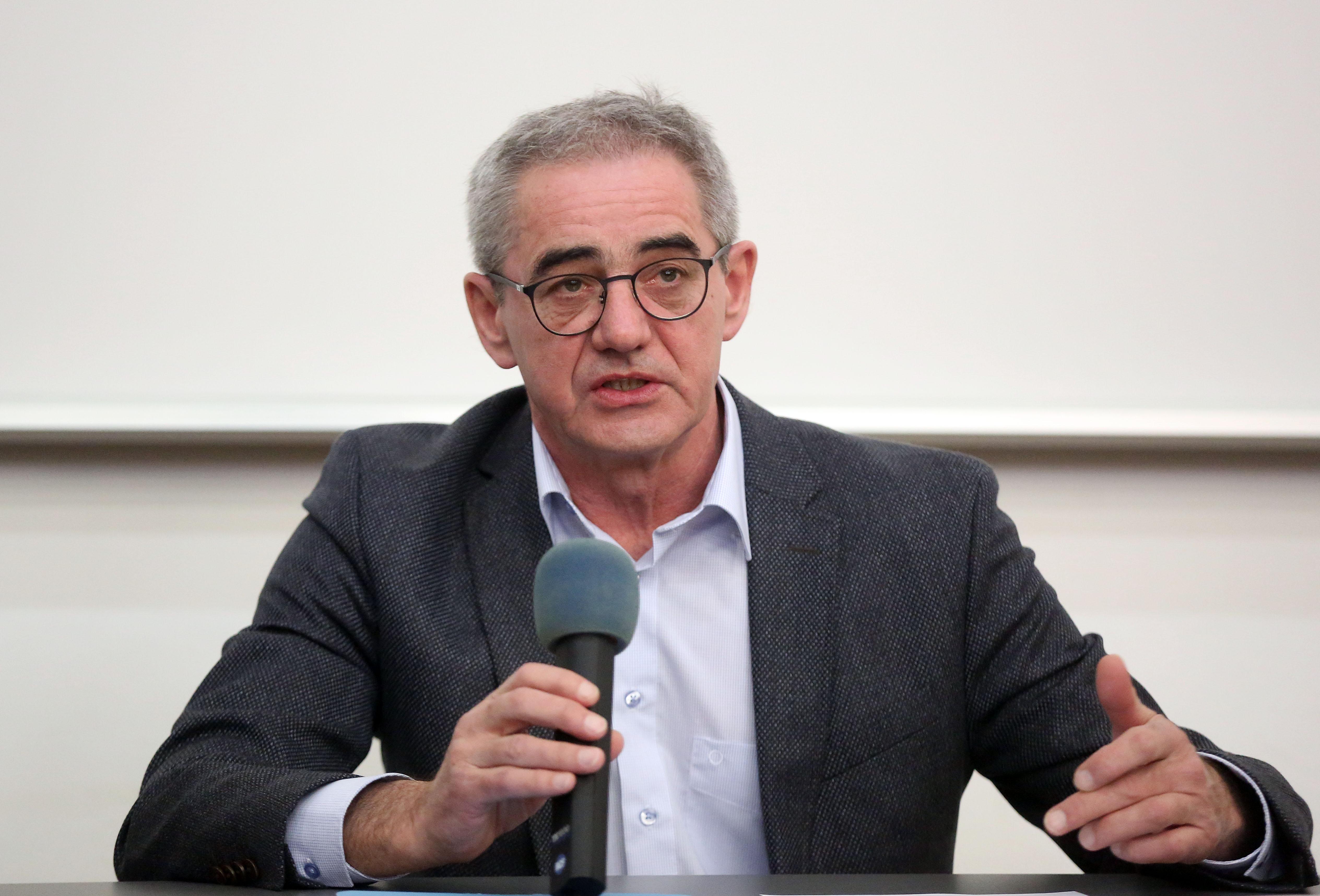 Damir Bakić vjeruje da će biti izabran za rektora zagrebačkog Sveučilišta