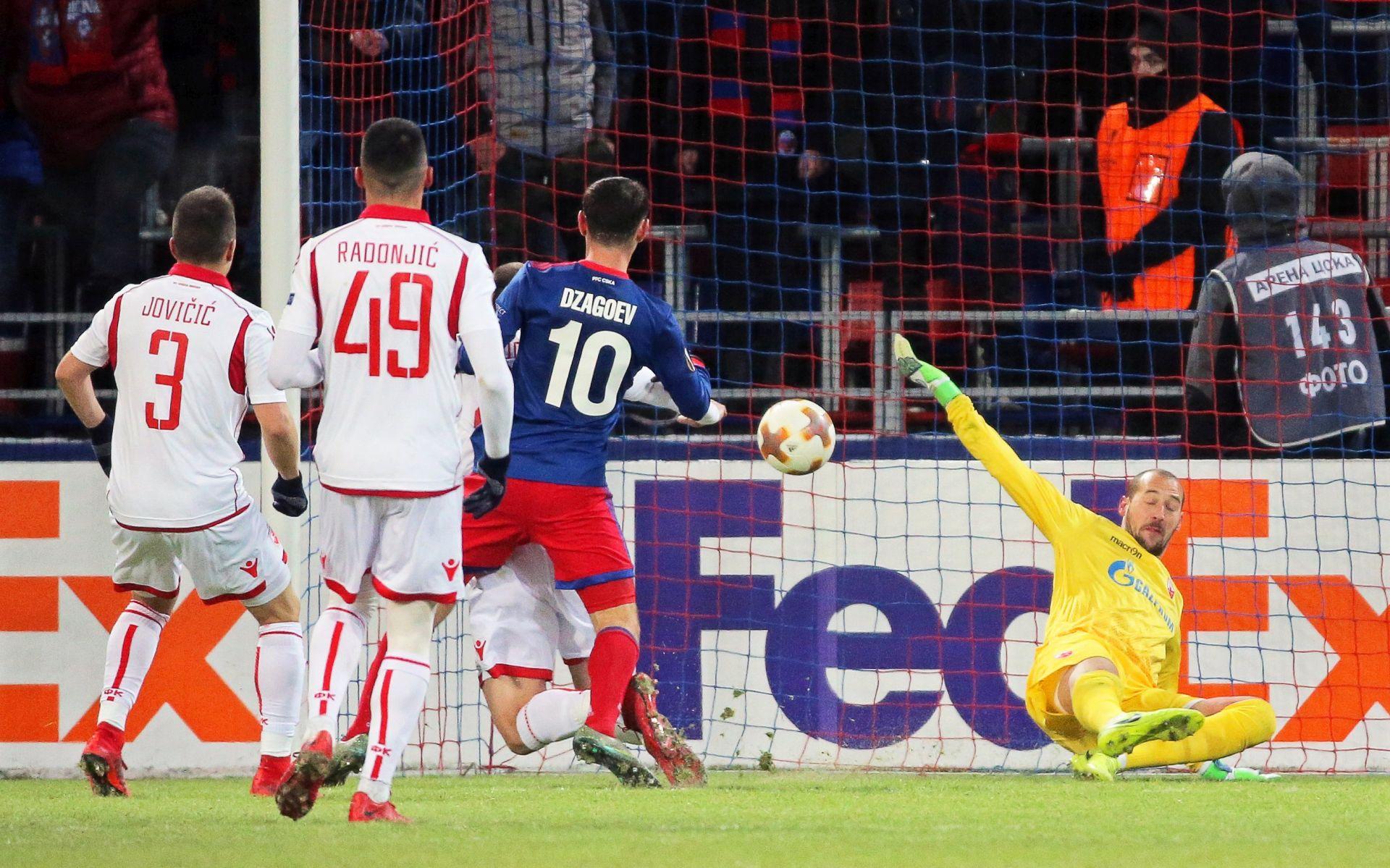 EUROPA LIGA: CSKA 'preskočila' Zvezdu za osminu finala