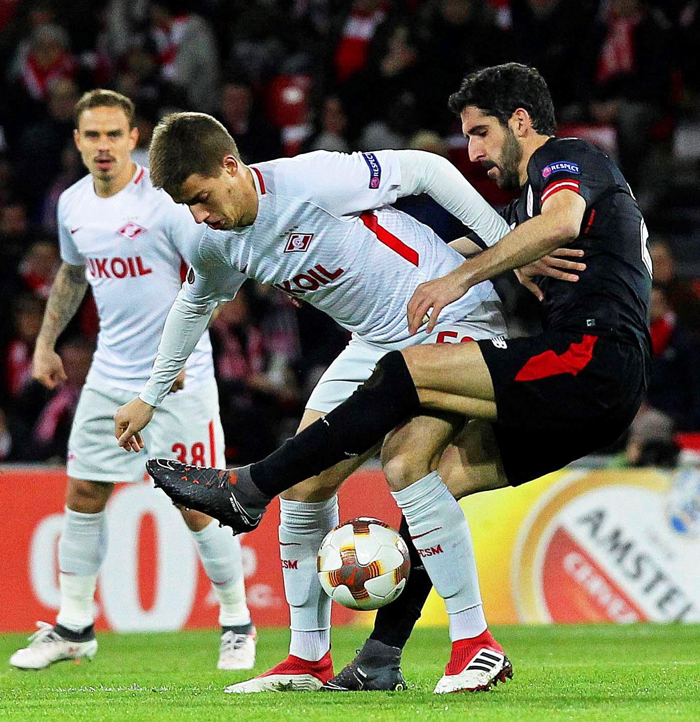 Rusija: Spartak drugi, Pašalić na klupi