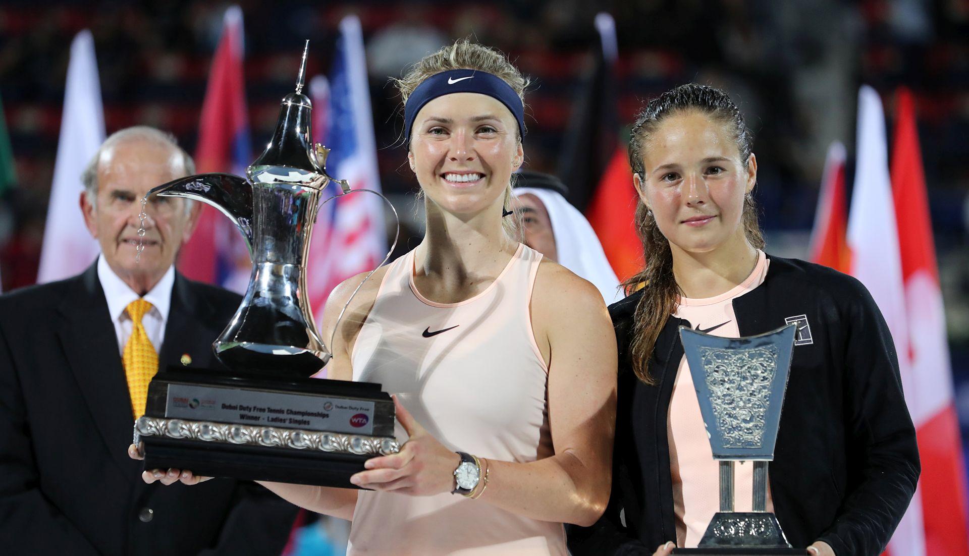 WTA DUBAI Svitolina obranila naslov