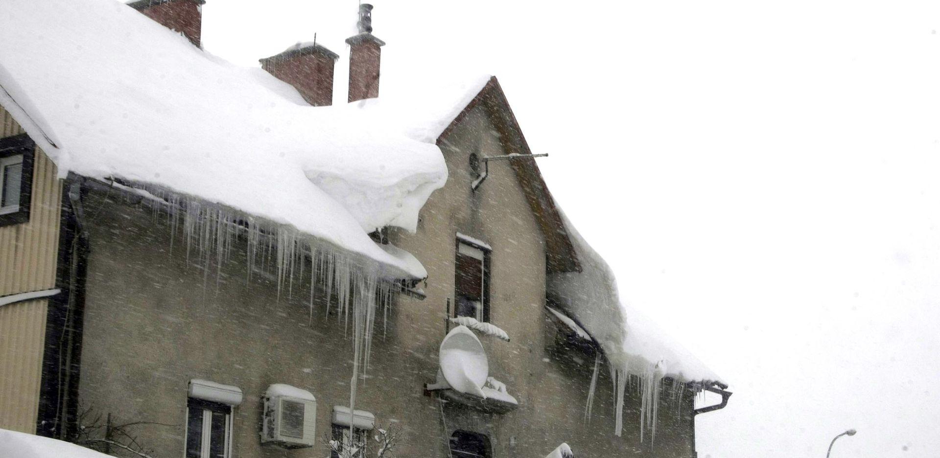 Minusi diljem Hrvatske, stižu snijeg i olujni vjetar