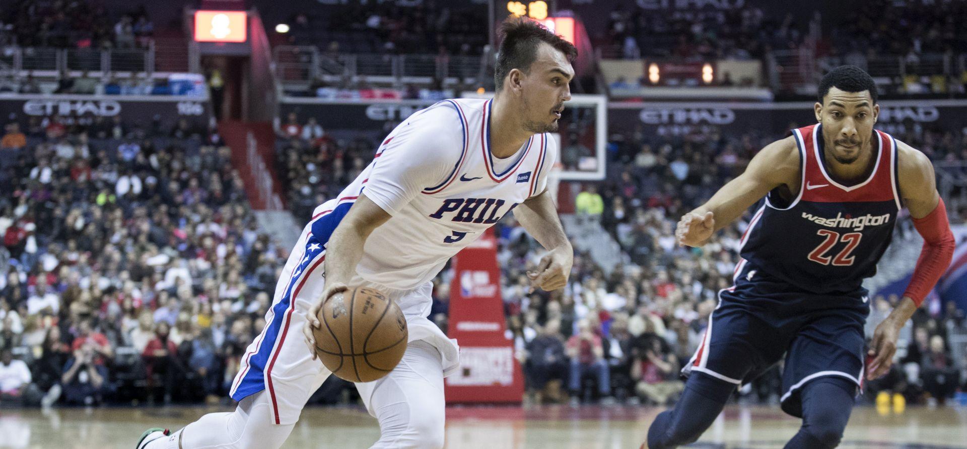 NBA Šarić sjajan u pobjedi Philadelphije