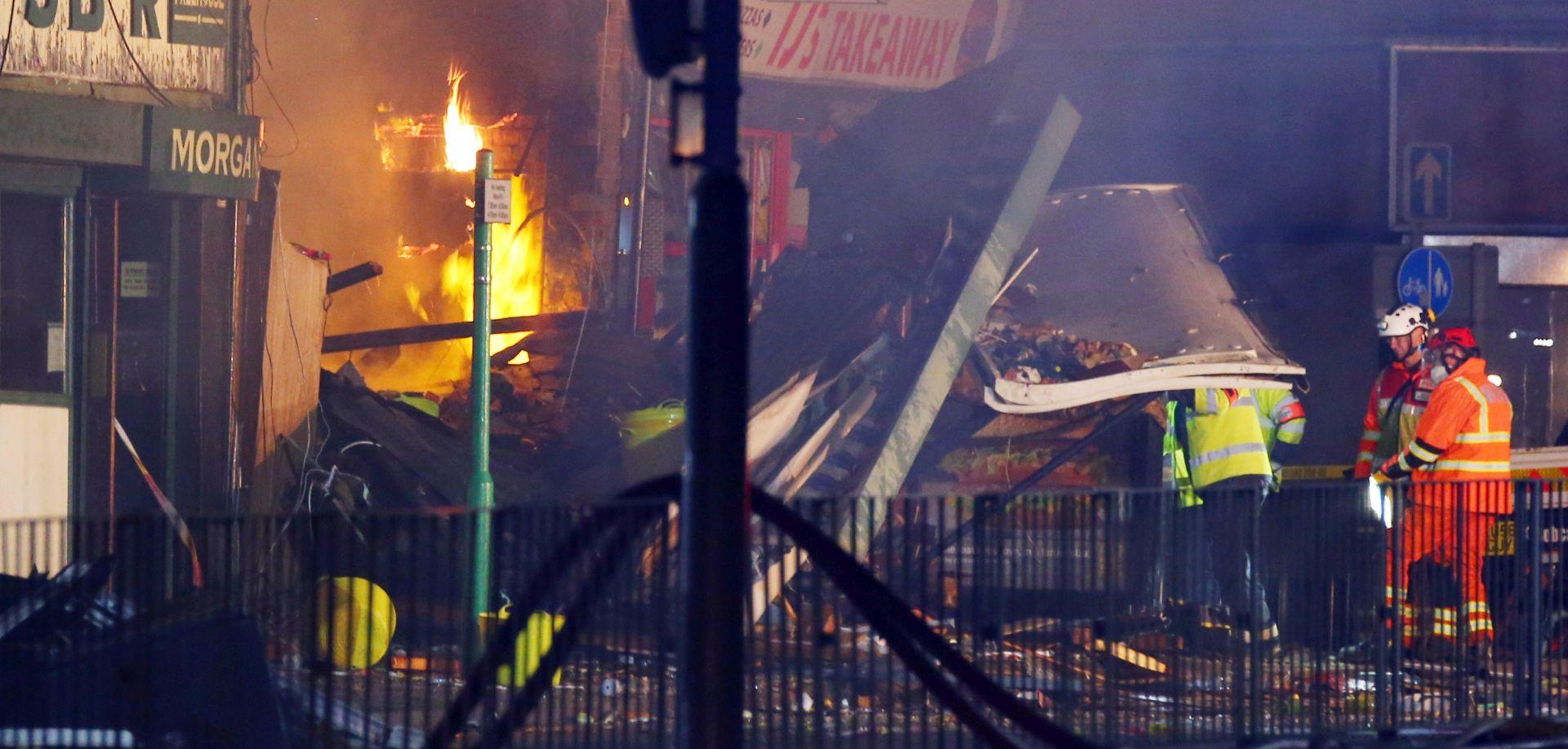 VIDEO: U eksploziji u Leicesteru poginule četiri osobe