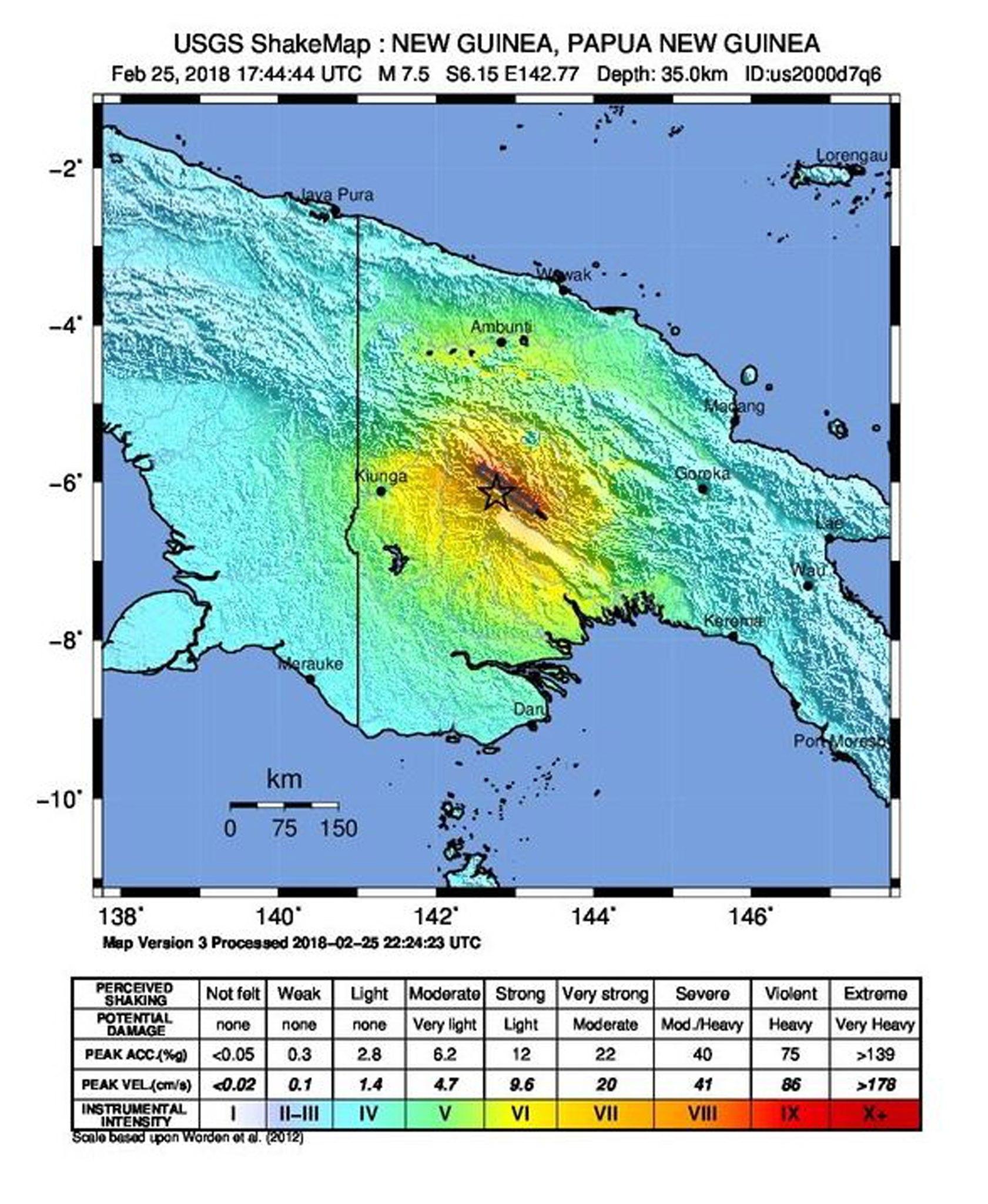 Najmanje 14 mrtvih u potresu na Papui, ExxonMobil zatvorio LNG termina