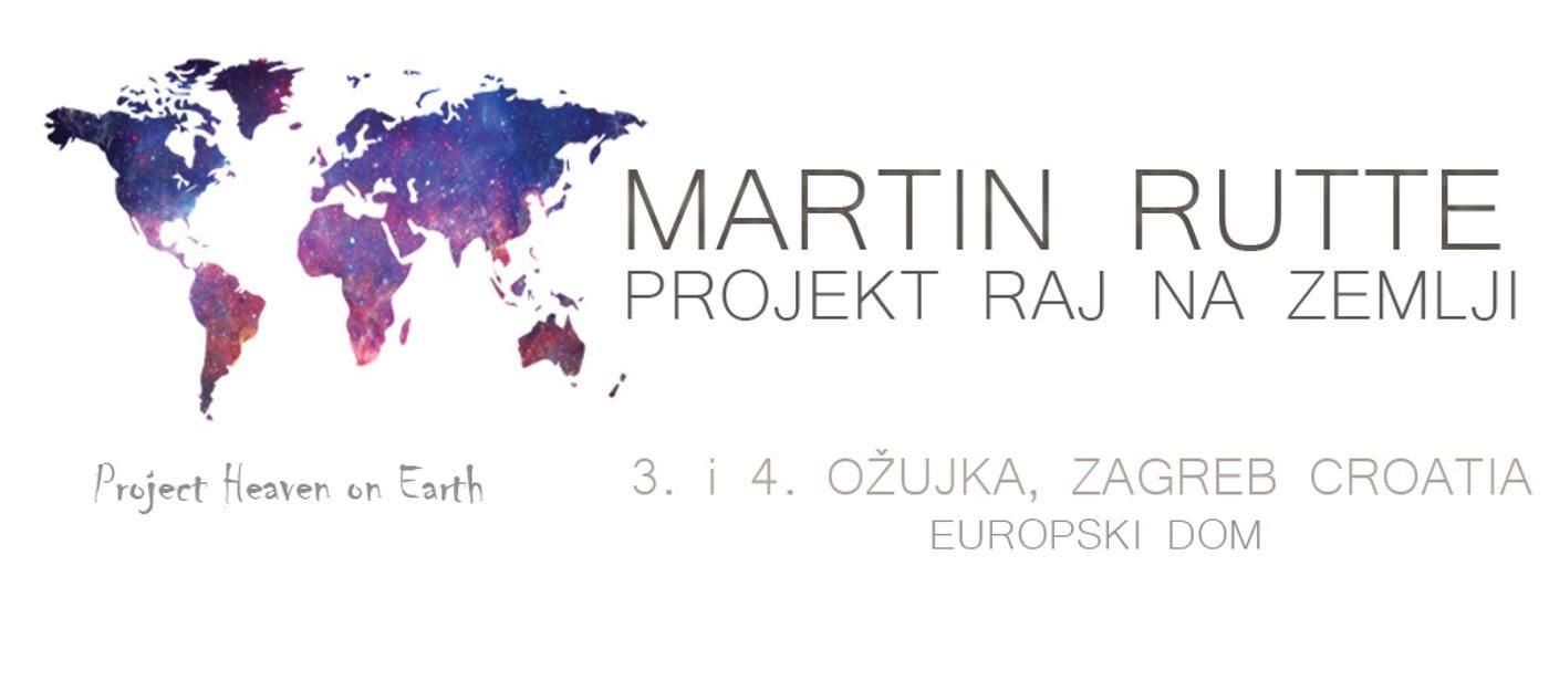 Martin Rutte govori o svom životnom projektu 'Raj na zemlji'