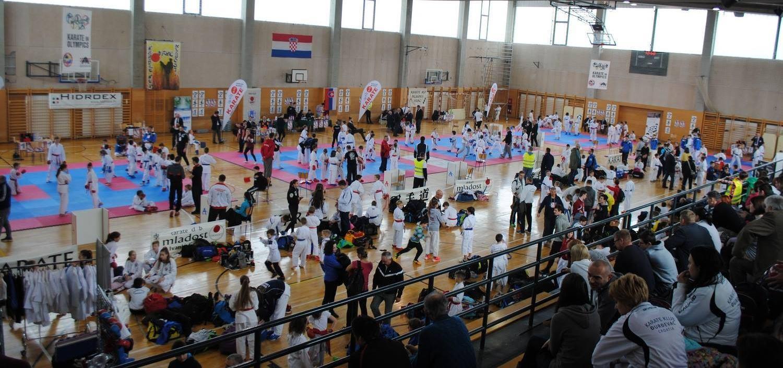 FOTO: Međunarodni karate kup Mladosti okupio je više od 563 mladih sportaša iz 61 kluba