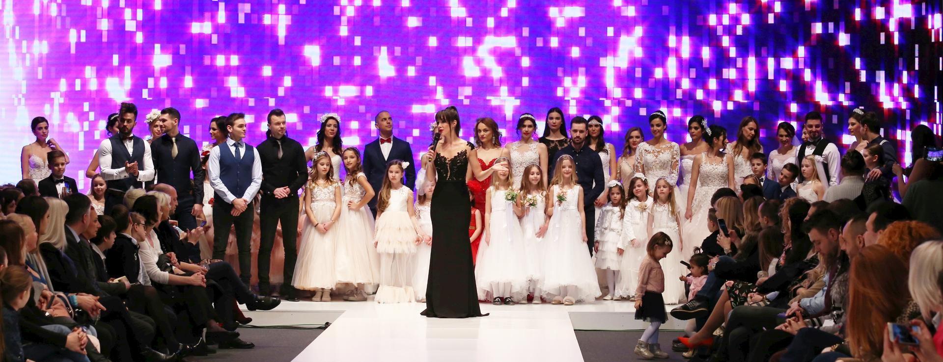 FOTO: Odlični glazbeni nastupi i humanitarna VIP revija obilježili Sajam vjenčanja Zagreb