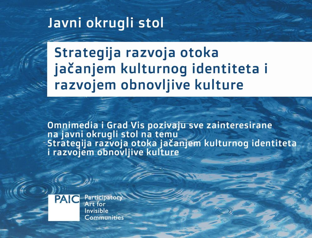 Okrugli stol 'Strategija razvoja otoka jačanjem kulturnog identiteta i razvojem obnovljive kulture'