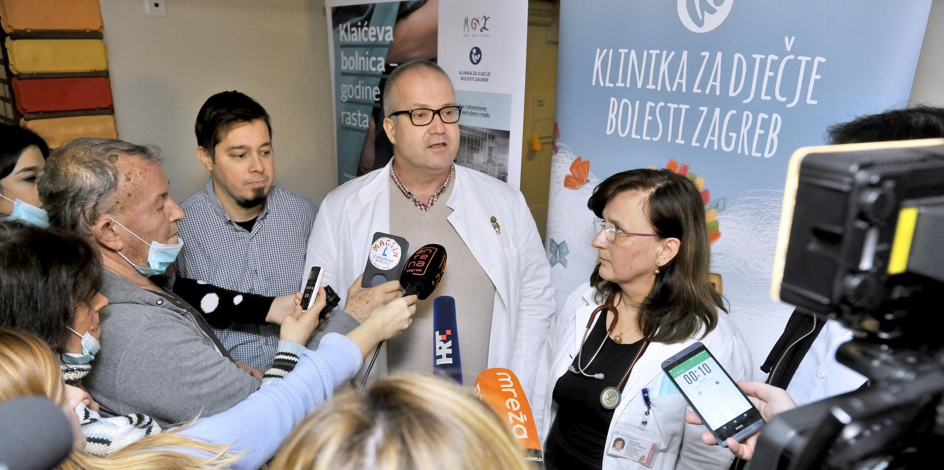 FOTO: Klinika za dječje bolesti Zagreb otvorila laboratorij za dječju onkologiju