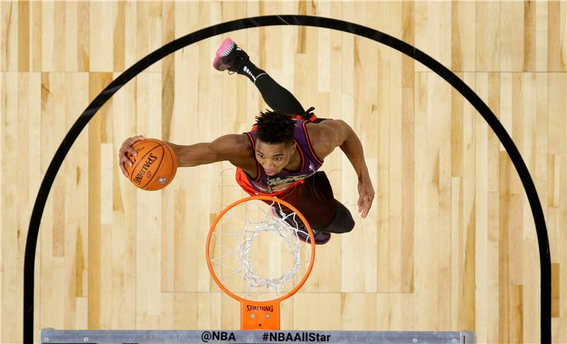 NBA All-Star: Mitchell najbolji zakucavač, Booker najprecizniji šuter
