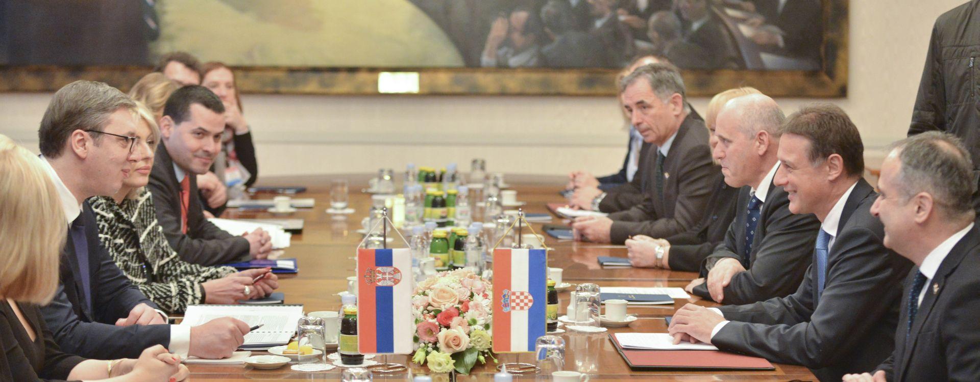 Jandroković primio Vučića, suglasili se o potrebi kontinuiranog dijaloga