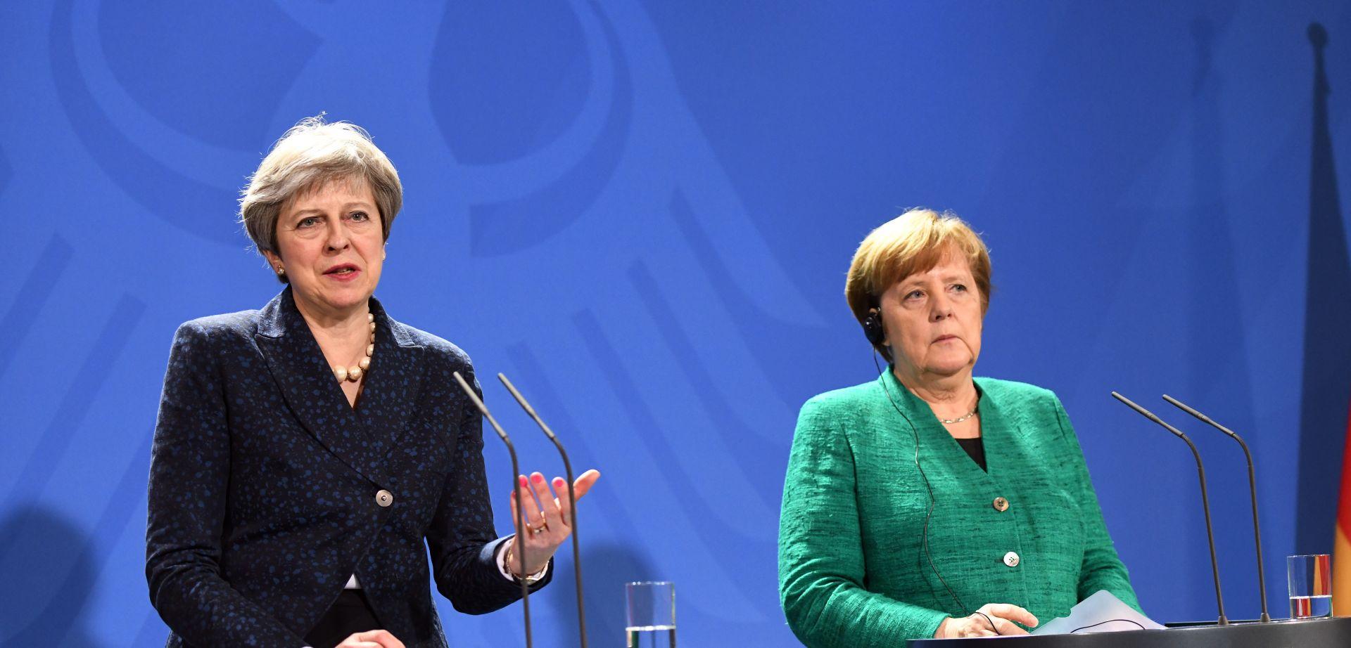 "MERKEL: Sporazum o Brexitu treba naći ""pravednu ravnotežu"""