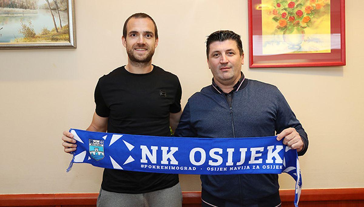 Bivši kapetan Hajduka do kraja sezone u dresu Osijeka