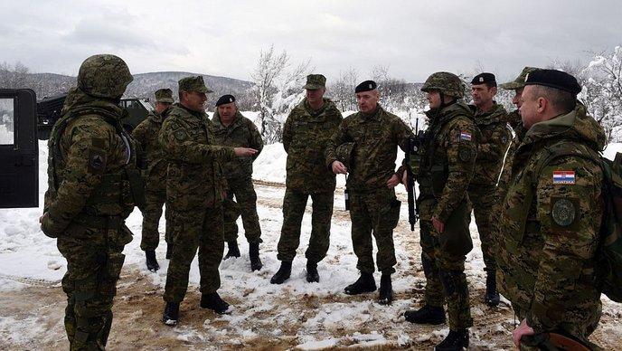 """VULKAN 18/1"" Hrvatska vojska pokazala borbenu moć prije NATO misije"