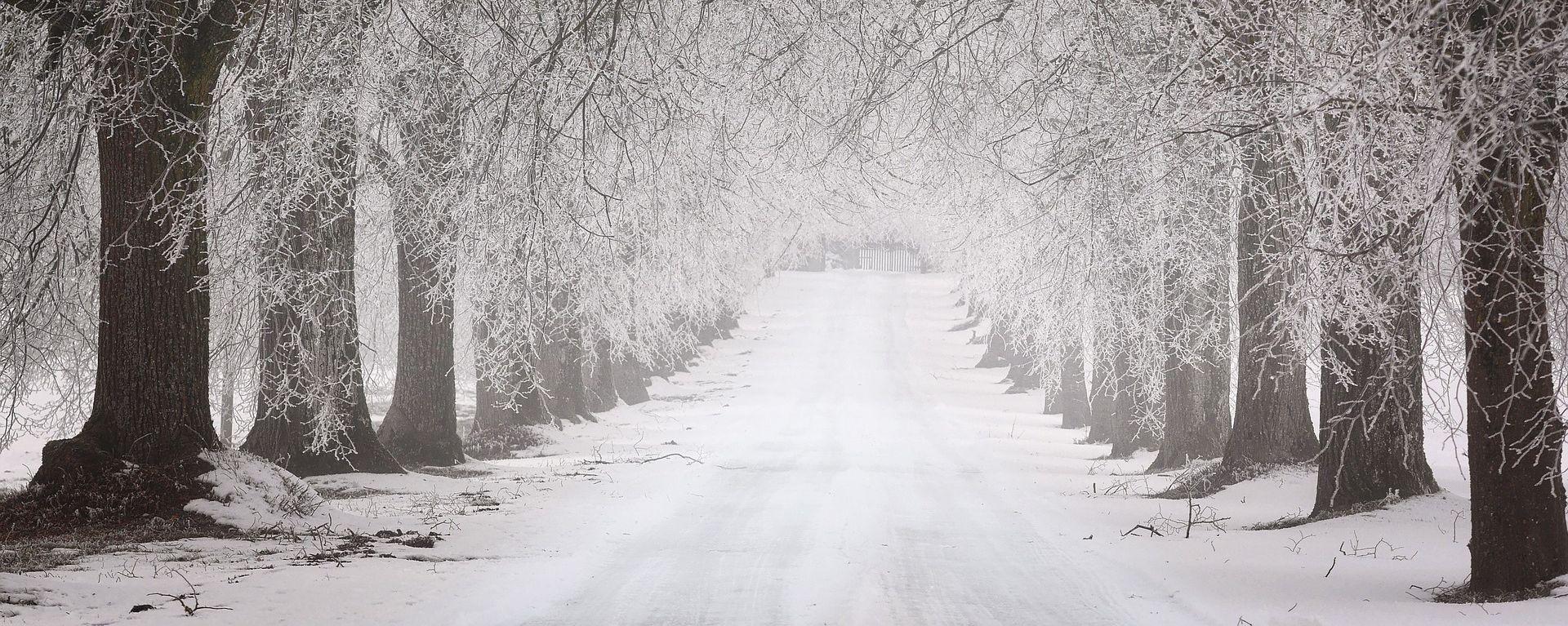 Magla i poledica usporavaju vožnju, zimski uvjeti na cestama