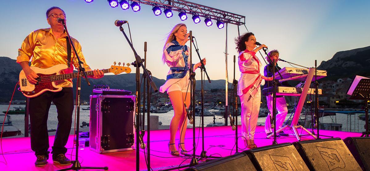 The Abbazia iz Grada Rijeke je jedan od najtraženijih ABBA Tribute bandova