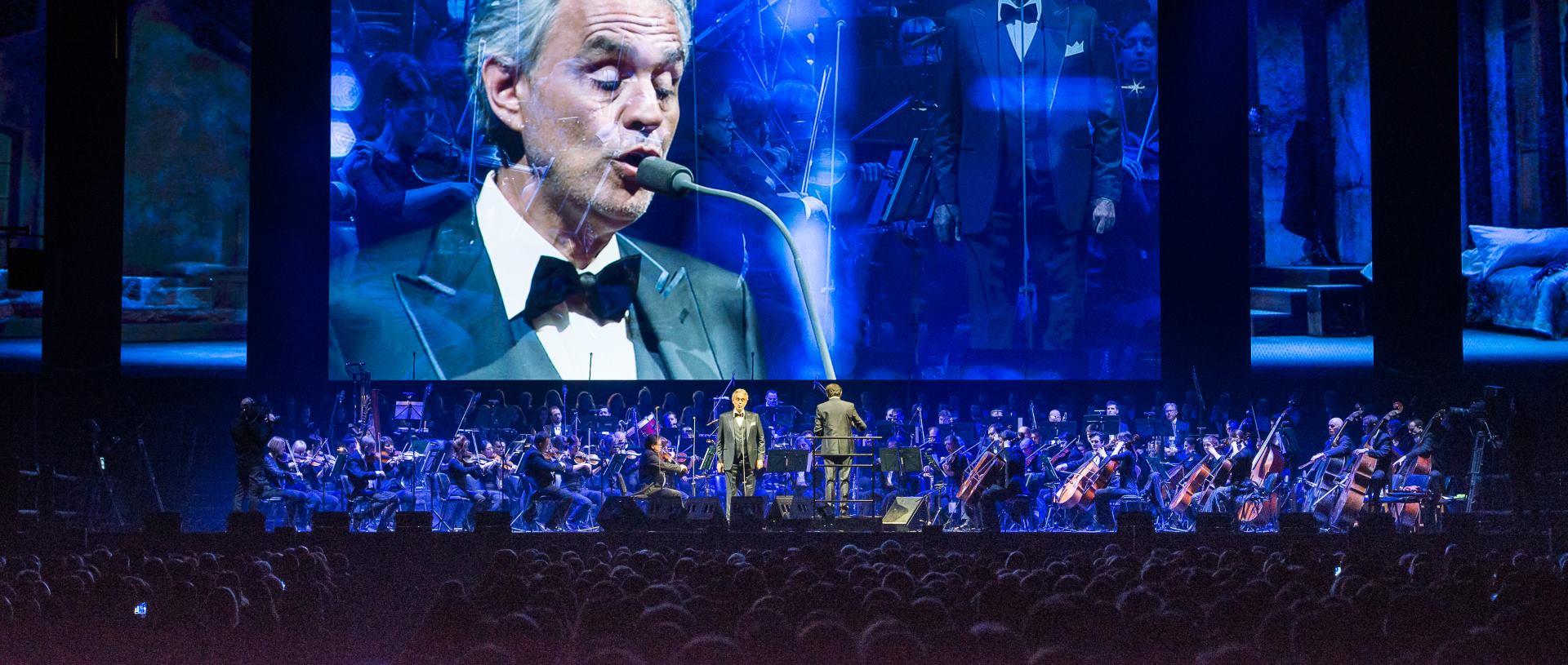 Kraševa Bajadera bila ponosni sponzor koncerta Andree Bocellia
