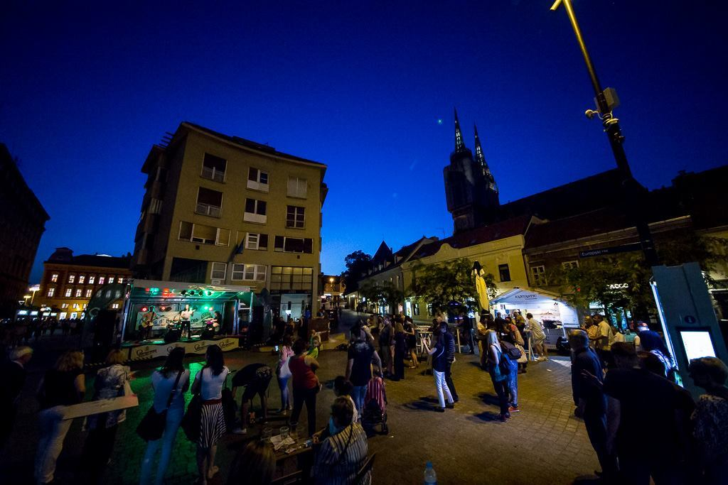 Sarajevska rock grupa 'Letu štuke' na festivalu Cest is d Best